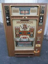 Geldspielautomat Monarch Spielautomat für DM ca. 50 Jahre alt 1 Spiel 20 Pfennig