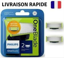 Lot de 4 boites de 2 lames one blade Philips neuves