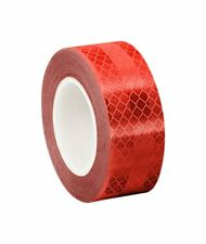 3M 3432 Red Micro Prismatic Sheeting Reflective Tape, (5 Pack)