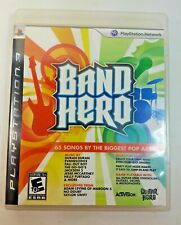 Band Hero (Sony PlayStation 3, 2009) PS3 GAME COMPLETE