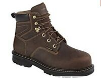 Wolverine Work Boots Mens Size 9.5 Only Worn Once! Brown Waterproof