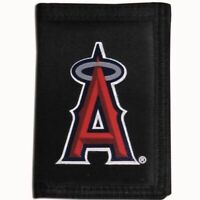 Los Angeles Anaheim Angels Trifold Nylon Wallet MLB Licensed Baseball