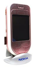 Nokia 7373 Pink and White Fashion NEW SWAP ORIGINAL UNLOCKED