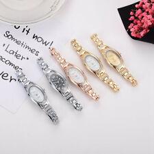Casaul Women Rose Gold Plated Elegant Bracelet Watches Analog Quartz Wrist Watch
