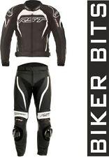 Tute in pelle e altri tessuti da corsa RST per motociclista