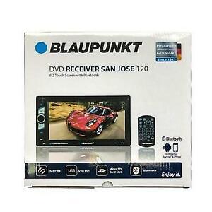 "Blaupunkt SAN JOSE 120 2-DIN Car In-Dash DVD Bluetooth Receiver 6.2"" Touchscreen"