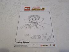 Lego Fan Expo EB Games Marvel Super Heroes 2 Sketch Doctor Dr Steven Strange
