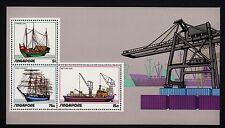 101346/ Singapur 1972 - Bl. 4 - Schiffe - ** - M€ 65,00