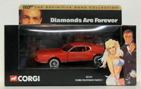 Corgi Appx 1/36 Scale Diecast 02101 Ford Mustang Mach 1 Diamonds Are Forever 007