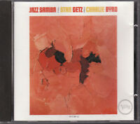 Jazz Samba by Stan Getz & Charlie Byrd (CD, Verve) West Germany