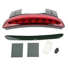 Red Lens Fender Edge LED Rear Tail Light for Harley Iron Sportster XL883 1200