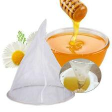 Fiber Bee Beekeeping Honey Strainer Filter Net  Screen Apiary Equipment Fast