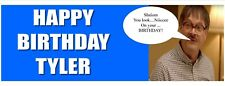 SHALOM JIM 3ft party personalised birthday banners  X2 celebration