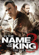 NEW DVD In the Name of the King 3 The Last Mission D Purcell M Valev R Paskaleva