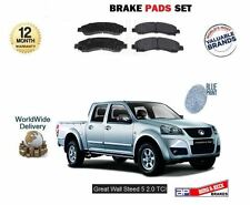 Per Great Wall Steed 5 2.0 DT PICKUP 2012 - > FRENO ANTERIORE DISC PADS SET