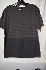Urban Outfitters vanishing elements  Men's gray stripped T shirt  Size M