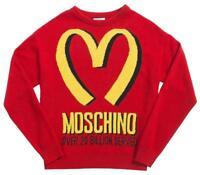 Moschino Jeremy Scott Golden Arches 20 Billion Served Sweater 1MJ0120