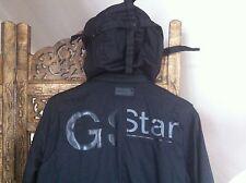 G-Star Jacke Hooded Gr.S Jeans schwarz Kinder Herren Damen winter 100% cool army