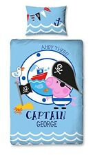 Peppa Pig George Pirate Simple Housse de couette E