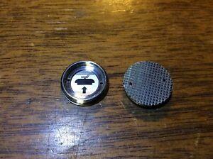 Minolta SRT Battery Cap, Early Crosshatch Thumb Style - used