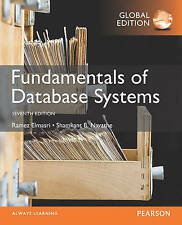 Fundamentals of Database Systems, Global Edition by Ramez Elmasri, Shamkant...