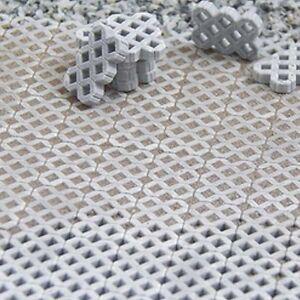 (0,13€/Stück) 105x Rasengittersteine Juweela 24169, 9 x 13,5 mm Modellbau Straße
