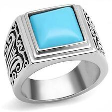 Unbranded Turquoise Stainless Steel Jewellery for Men