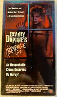 Deadly Daphne's Revenge VHS: AIP, Troma Team Video: Revenge- Very Rare- New