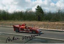 Arturo Merzario Firmato a Mano 12x8 PHOTO LE MANS 1.