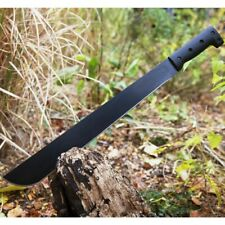 "23"" Fixed Blade Survival Machete w/ Sheath Hunting Jungle Knife Sword Tactical"