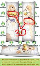 Toaru Kagaku Railgun Shokuhou Misaki Dakimakura 3D butt & 3D breast pillow case