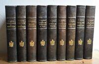 Frederic Masson, Etudes Napoléoniennes. Ed. réservée pour l'Auteur. 9 vols