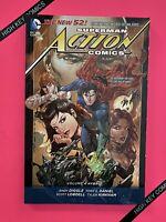 Superman Action Comics Vol 4 Hybrid TPB DC 2014 NM