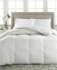 Lauren Ralph Lauren Bronze Comfort 500 Fp Cotton White Down Comforter Twin White