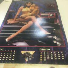 RARE Vintage 1988 Snap-on tool calendar PIN UPS mancave