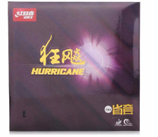 DHS Hurricane 3 Provincial Team Vision Pips-In with Sponge Table Tennis Rubber