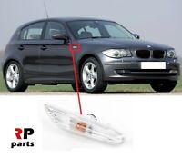 FOR BMW 1 SERIES E81 E82 E88 E87 NEW FENDER SIDE INDICATORS REPEATER WHITE RIGHT