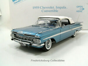 DANBURY MINT 1959 CHEVROLET IMPALA CONVERTIBLE MINT IN BOX WITH PAPERS