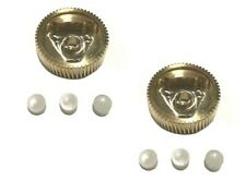 2X Headlight Replacement Brass Metal Gears & Bushings For 88-96 Corvette C4 L&R