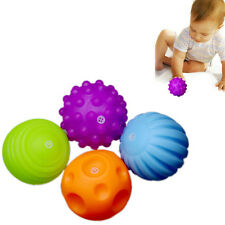 4Pcs Baby Touch Hand Ball Toys Training Ball Massage Soft Early Education Ball
