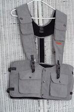 Orage LTD Shaper Utility Tool 6-pocket Ski Vest Grey w/ orange