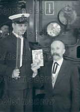1961 Henri Vincenot Railroad Man Author Knight of The Boiler  Press Photo