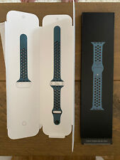 Genuine APPLE Watch Sport Band Strap NIKE Celestial Teal 38mm/40mm S/M M/L*Rare*