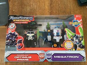 Transformers energon optimus prime powerlinx, megaton by hasbro