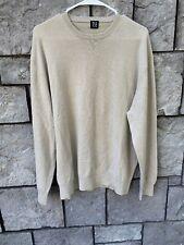 Tse Cashmere Pullover Sweater Size XL Grayish Long Sleeve