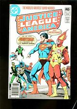 JUSTICE LEAGUE OF AMERICA 179 (9.2) FIRESTORM JOINS JIM STARLIN COVER (b048)