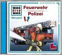 Folge 19: Feuerwehr/Polizei von Was Ist Was | CD | Zustand akzeptabel