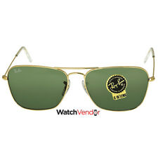 786410adcc Ray-Ban Caravan Arista Frame Green Lens Sunglasses RB3136 001 58-15