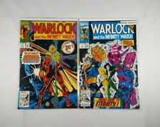 Marvel Comics Warlock And The Infinity Watch #1 & #9 - High Grade Key Issues 🔥