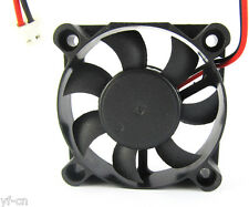 50pcs Brushless DC Cooling Fan 50x50x10mm 5010 7 blades 12V 2pin 2.54 Connector